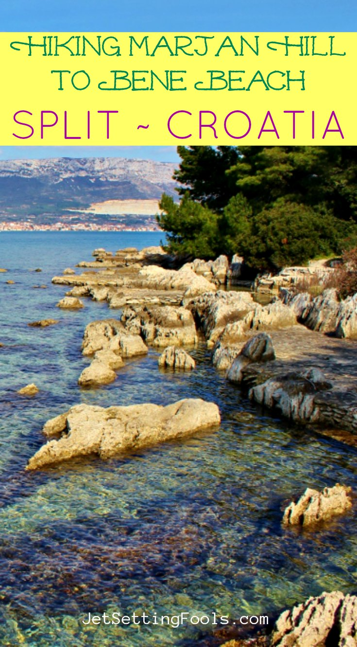 Hiking Marjan Hill to Bene Beach Split Croatia by JetSettingFools.com