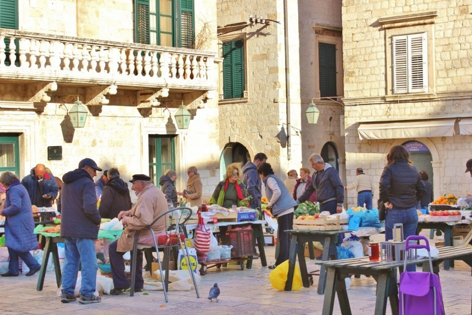 Dubrovnik on a budget: The local Saturday market