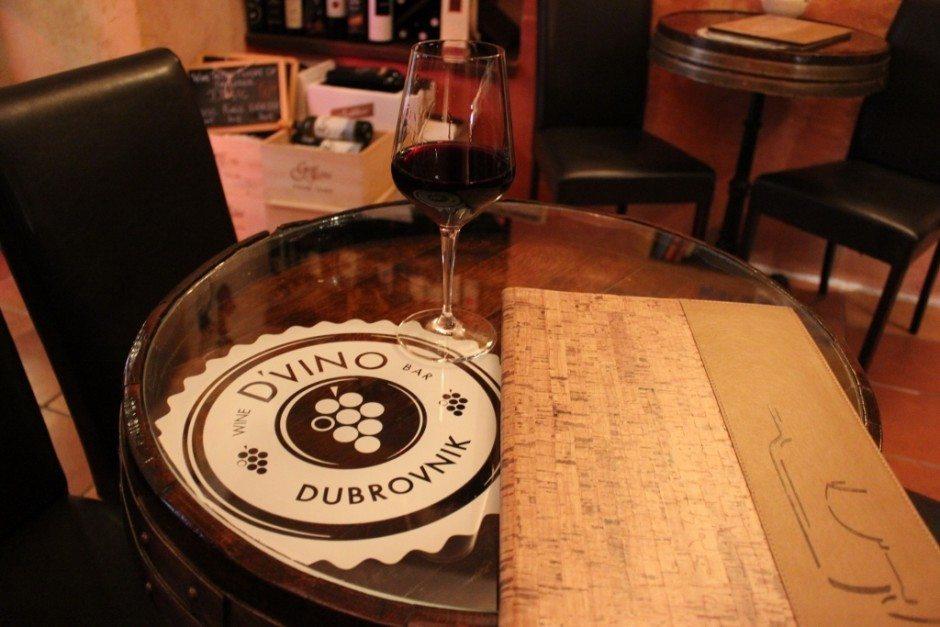 Dubrovnik on a budget: D'Vino wine bar