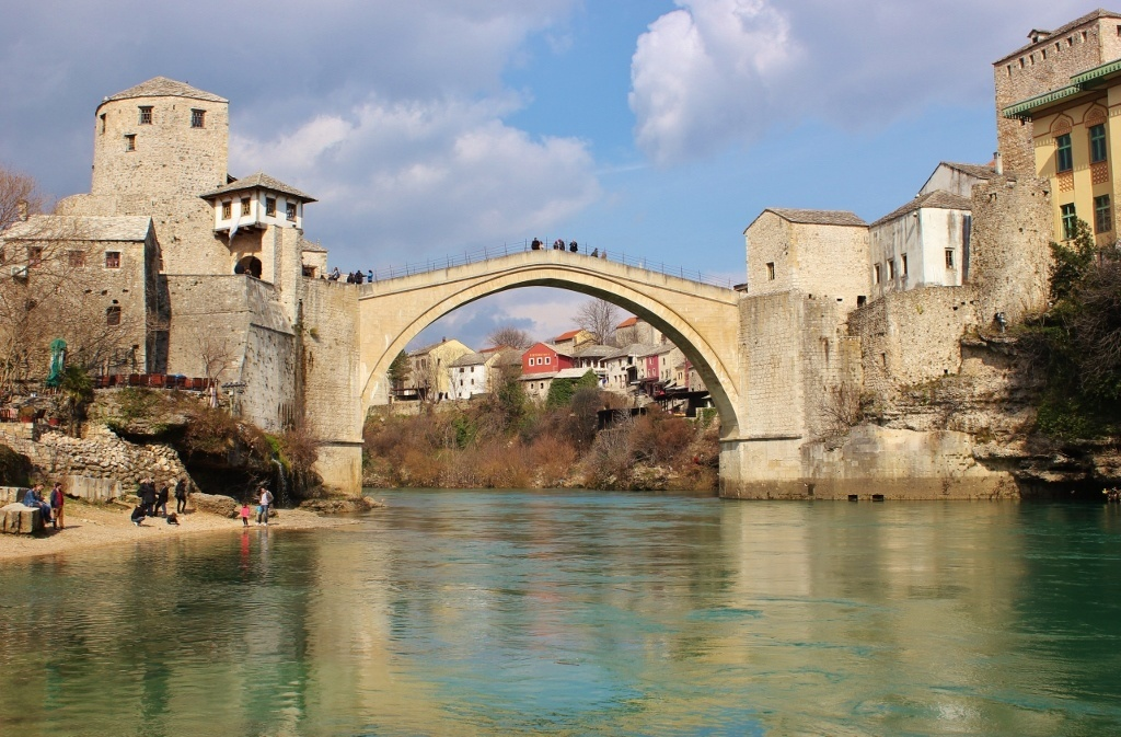Mostar Today: A picture perspective: The Old Bridge