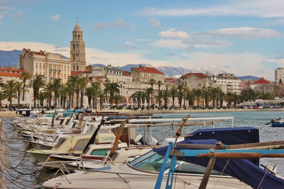 Sights to See in Split, Croatia: Fisherman's Port