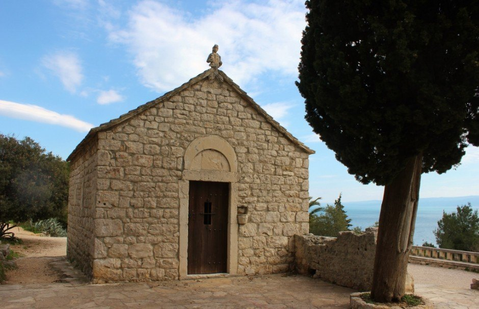Hiking Marjan Hill: Church we found along the way