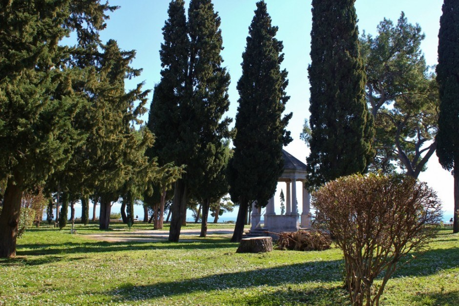 Sights to See in Split, Croatia: The park on the Sustipan Peninsula