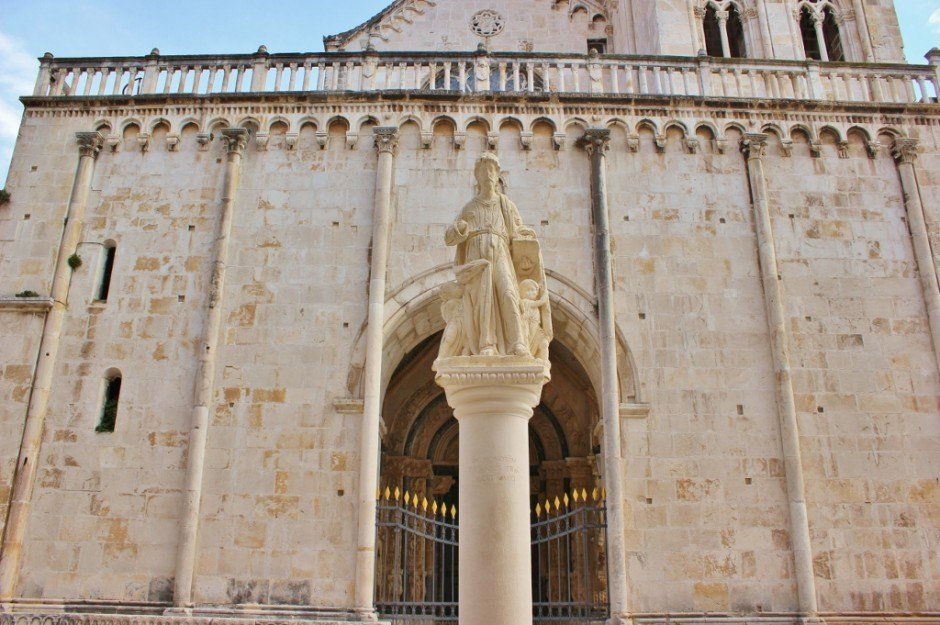 Day trip to Trogir: Cathedral of St Lawrence
