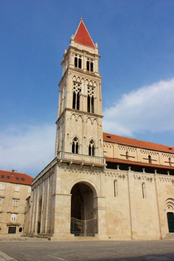 Day trip to Trogir: Cathedral of St Lawrence bell tower