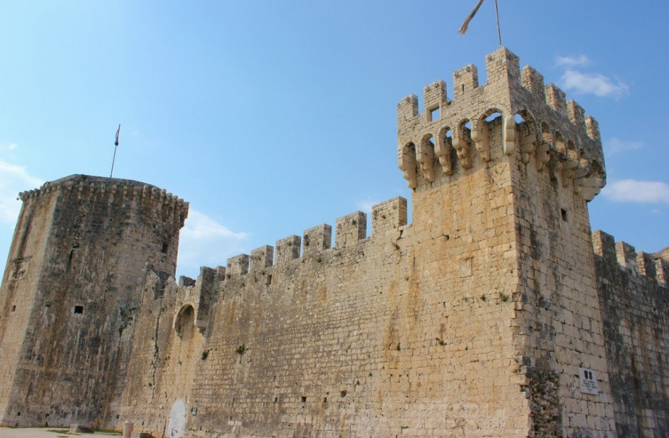 Day trip to Trogir: Kamerlengo Fortress and lookout tower