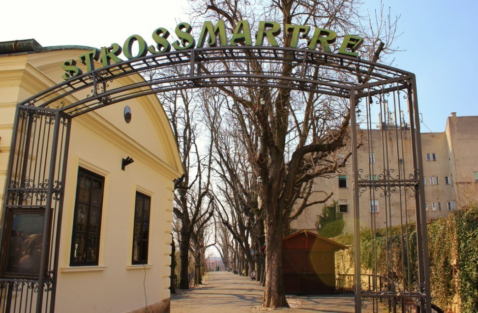 Strossmartre is one of the parks in Zagreb, Croatia