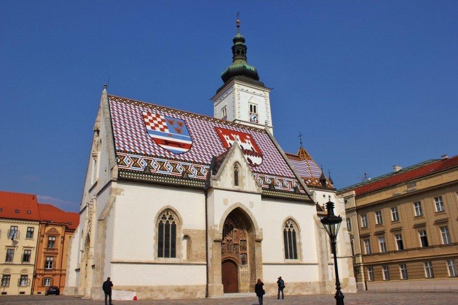 Gradec: St. Mark's Square - Zagreb, Croatia