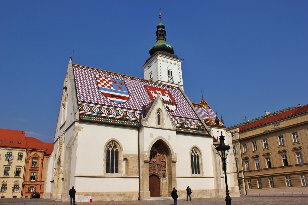 Gradec: St. Mark's Square - Zagreb, Croatia