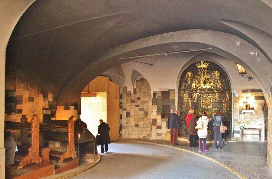 The chapel in Stone Gate in Gradec - Zagreb, Croatia
