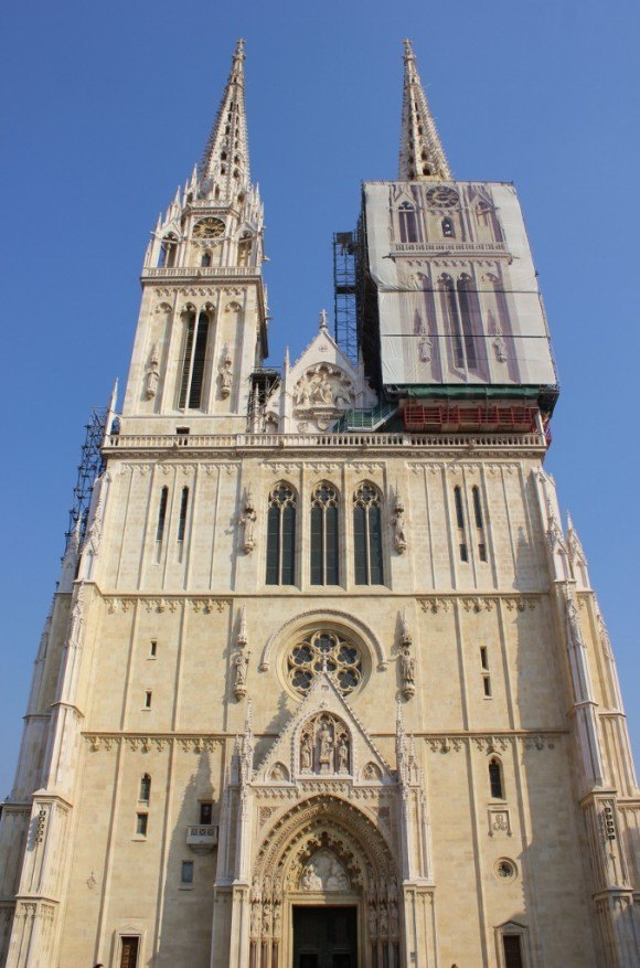 Zagreb's Cathedral, located in Kaptol.