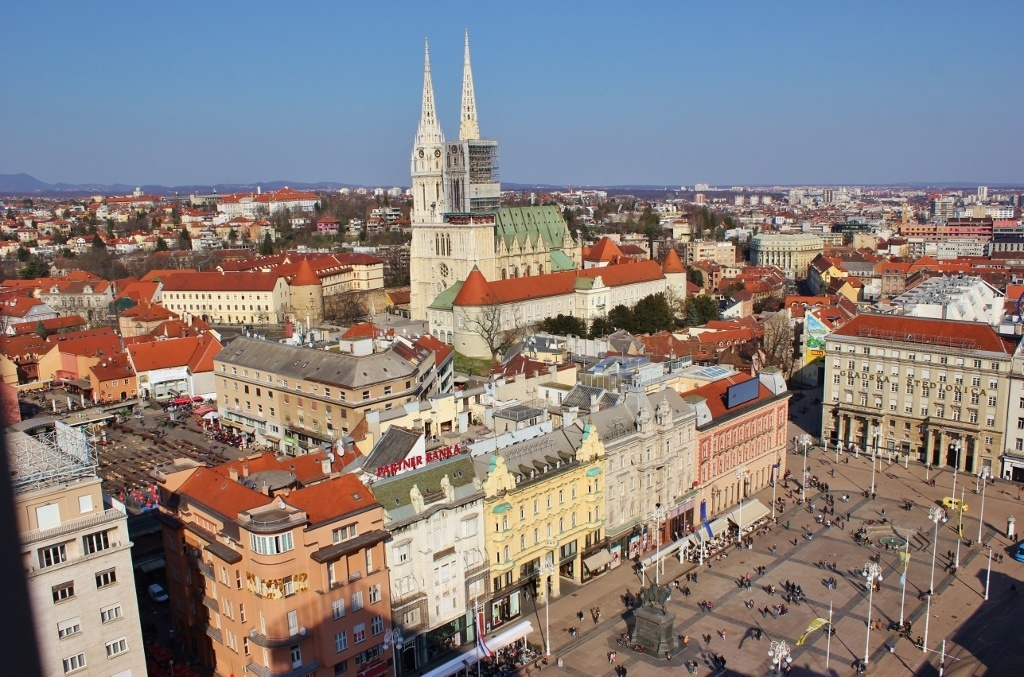 4 kaptol zagreb sights to see jetsetting fools a view of kaptol from the zagreb eye altavistaventures Images