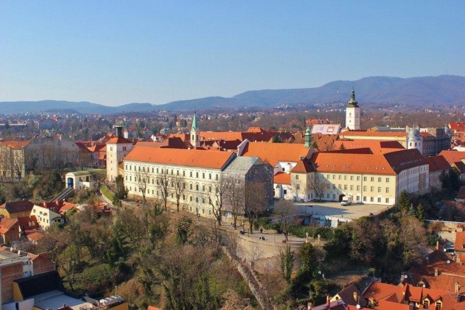 Gradec, the historic upper town in Zagreb, Croatia