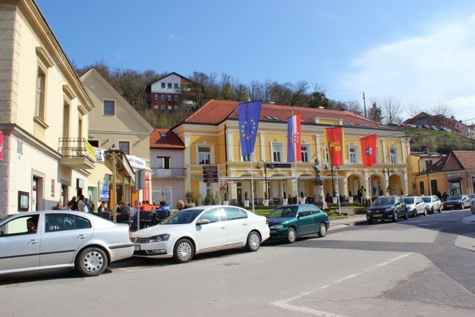 Krapina, Croatia: Main Square