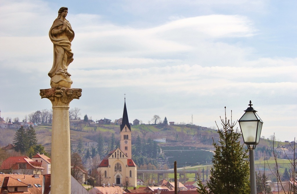 A view of Krapina, Croatia.