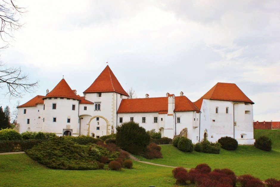 Visting the Stari Grad Castle is one of the things to do in Varazdin