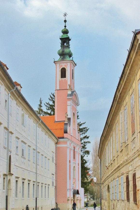 Varazdin: Ursuline Church of the Birth of Christ