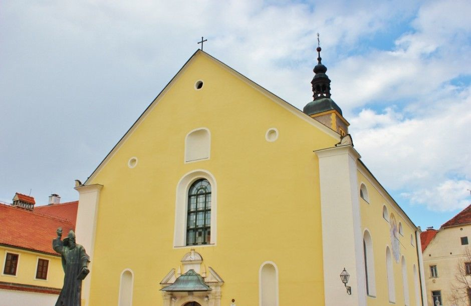 Things to do in Varazdin: Visit the Franciscan Church