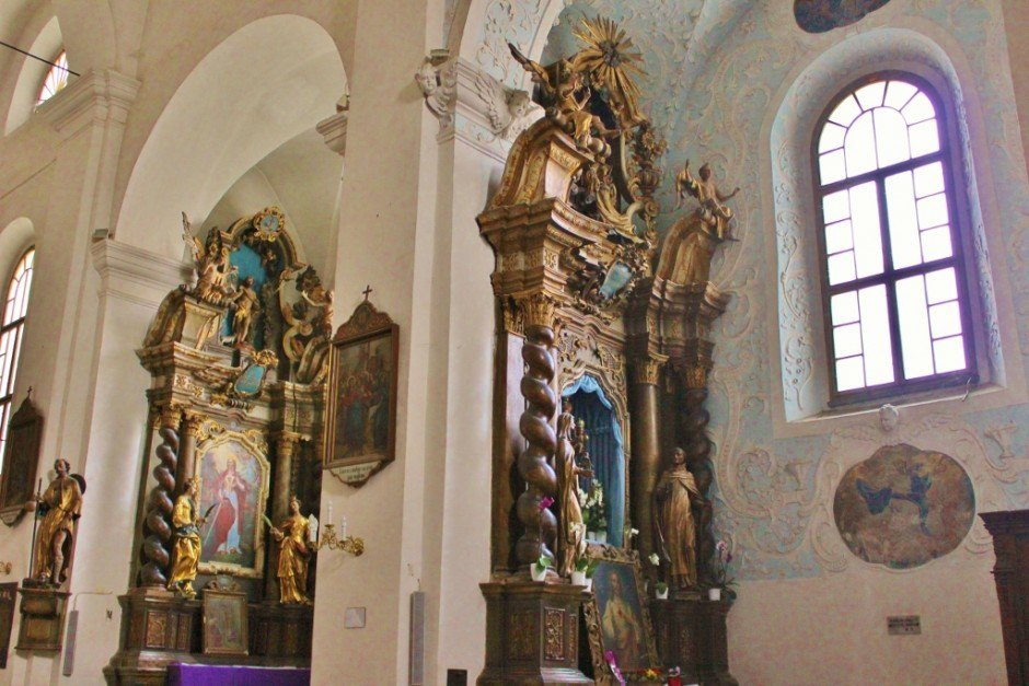 Varazdin: Inside the Franciscan Church