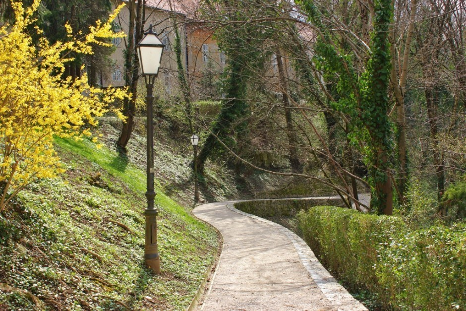 Dubravkin Put is one of the parks in Zagreb Croatia