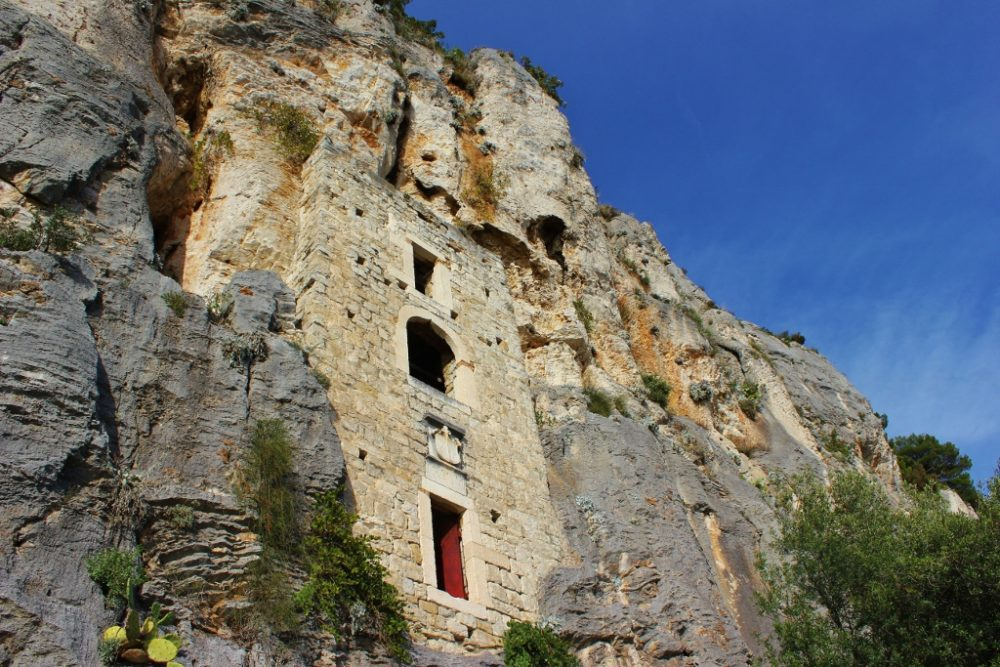 Rock Dwelling at Marjan Hill in Split, Croatia