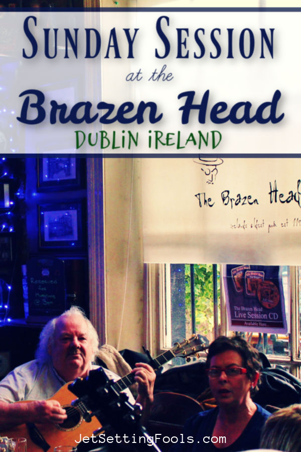 Brazen Head Pub Dublin, Ireland by JetSettingFools.com