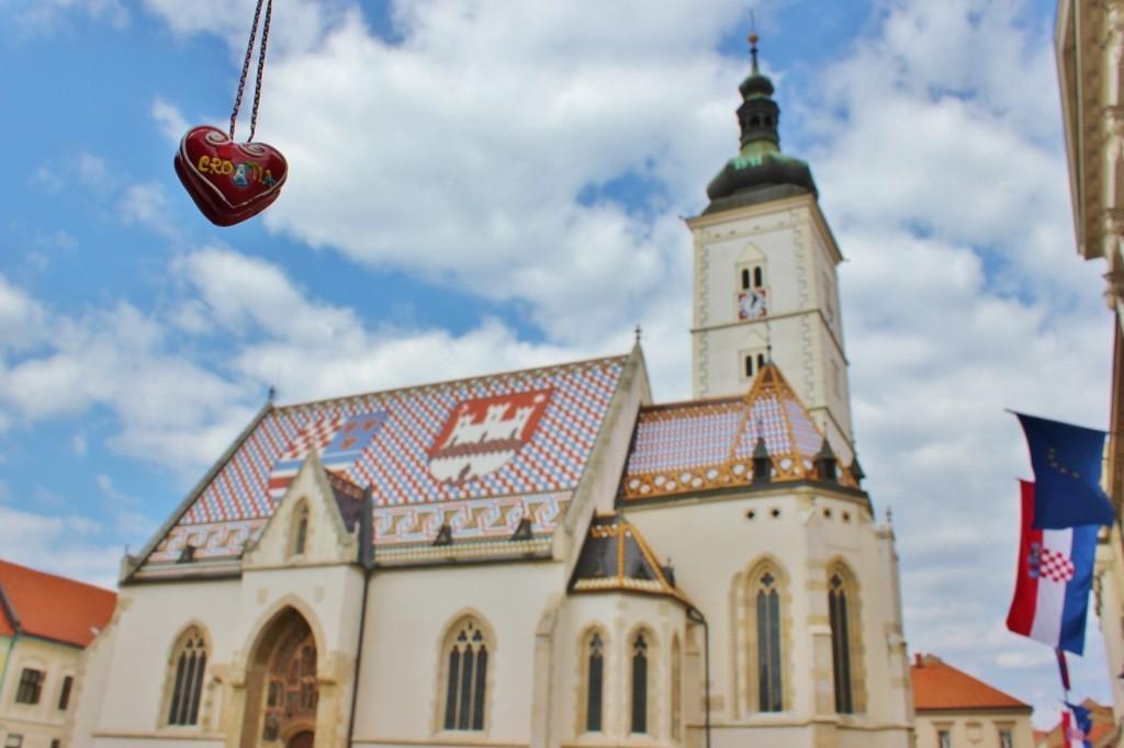We loved Zagreb: St. Mark's Square