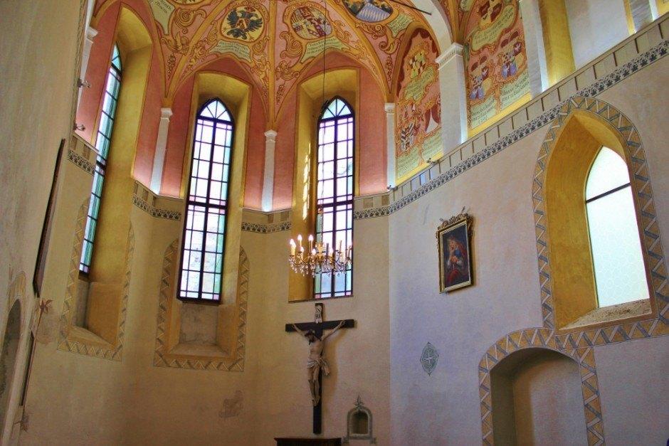 Ljubljana Castle chapel