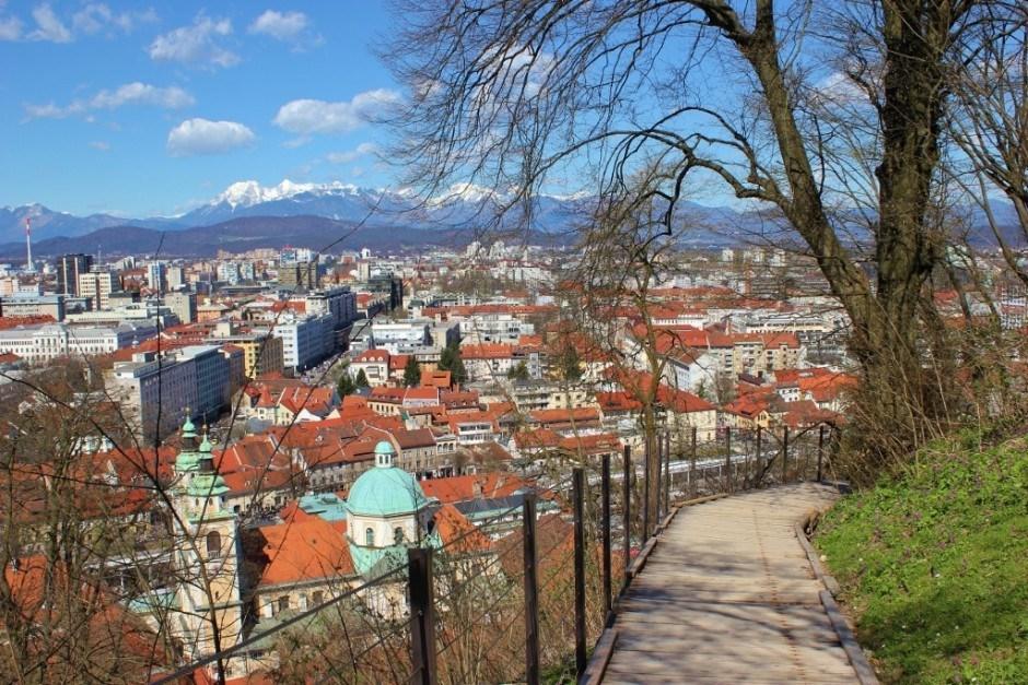 Ljubljana Castle hike