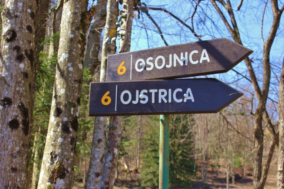 Lake Bled scenic viewpoints: Osojnica and Ojstrica