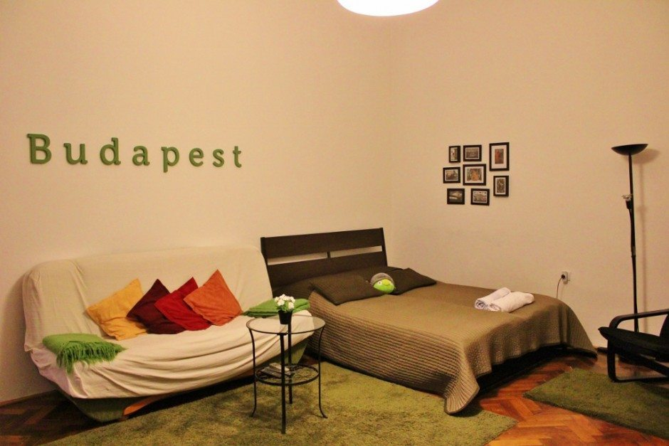 Budapest on a tight budget: Our accommodations in Budapest, found on Airbnb, were only $34 a night!