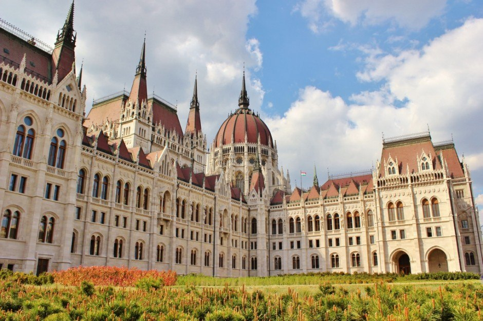 Budapest on a tight budget: Budapest Parliament Building - free to look at from the outside...and very impressive!