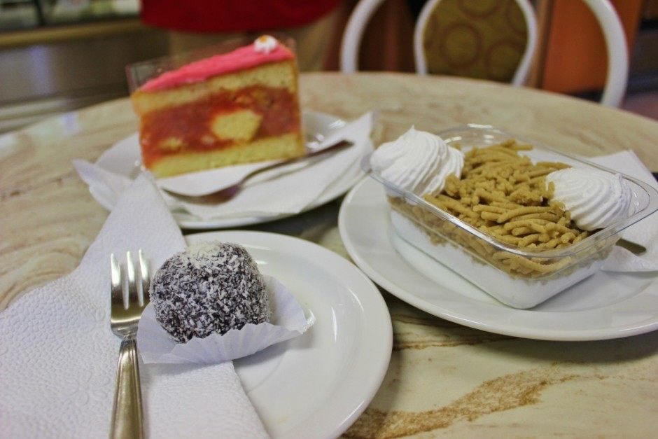 Traditional sweets are inexpensive in Budapest Hungary