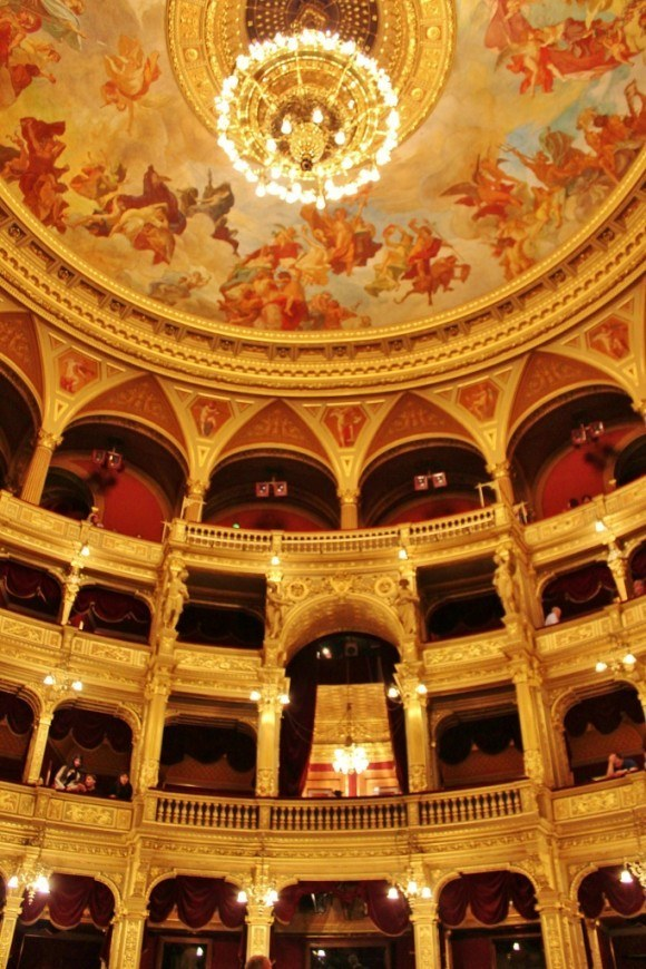 Opera House in Budapest Hungary
