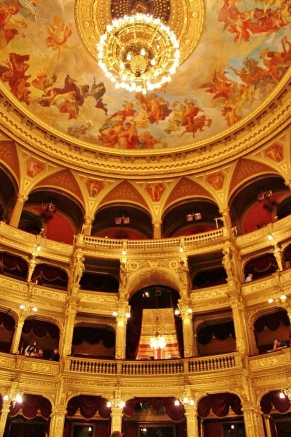 Opera House in Budapest Hungary