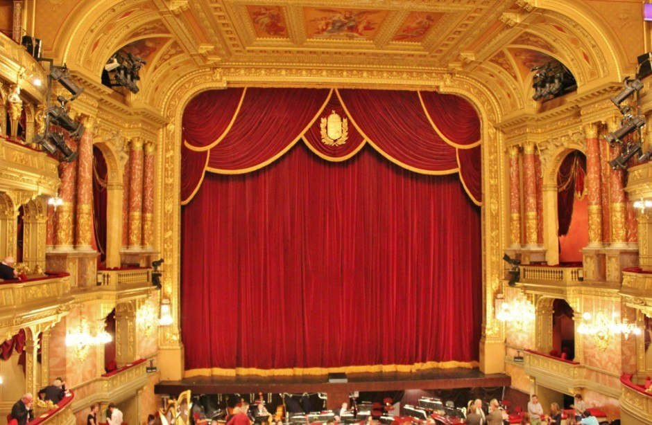 Watching the Opera is an affordable experience in Budapest Hungary