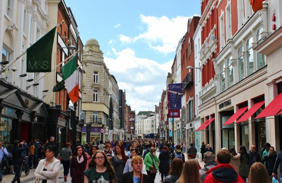 Dublin, Ireland self-guided walking tour: Grafton Street