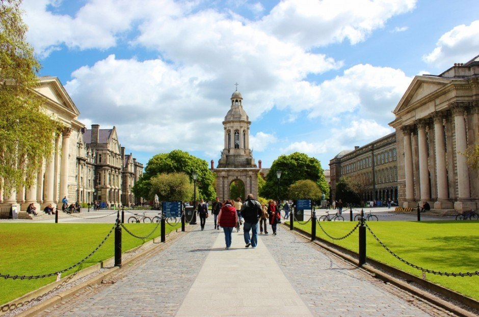 Dublin, Ireland self-guided walking tour: Trinity College
