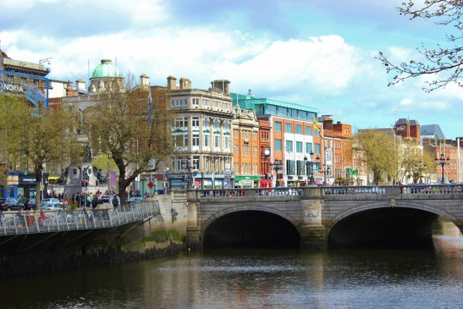 Dublin, Ireland self-guided walking tour: River Liffey