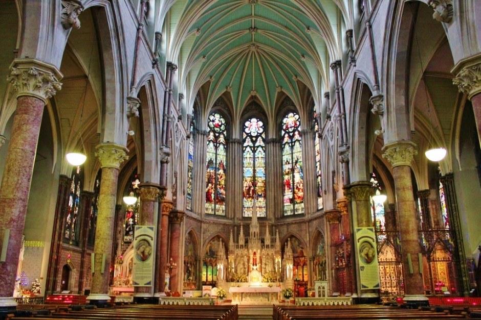 Dublin, Ireland self-guided walking tour: John's Lane Church