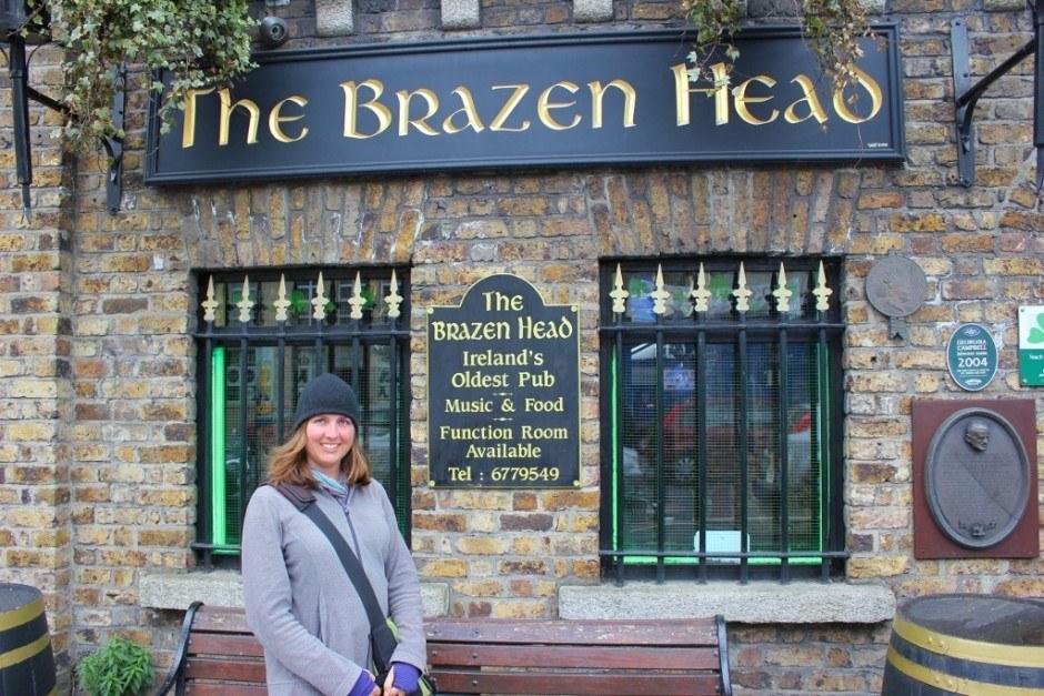 Dublin, Ireland self-guided walking tour: The Brazen Head