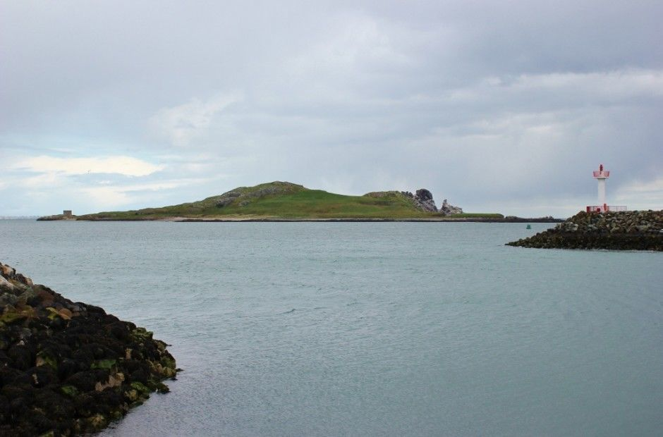 Ireland's Eye off the coast of Howth, Ireland