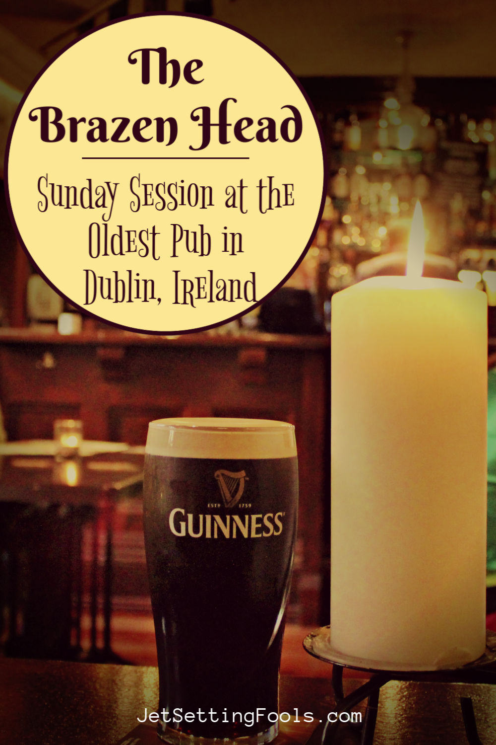 The Brazen Head Oldest Pub in Dublin, Ireland by JetSettingFools.com