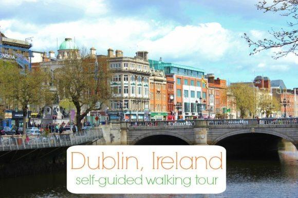 Dublin, Ireland Self-Guided Walking Tour JetSettingFools.com