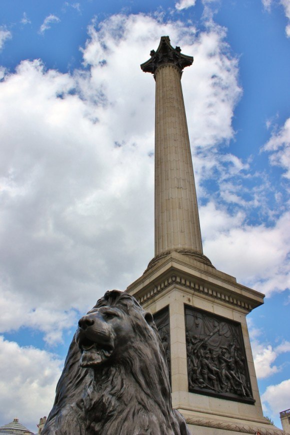 Westminster Sights: Nelson's Column