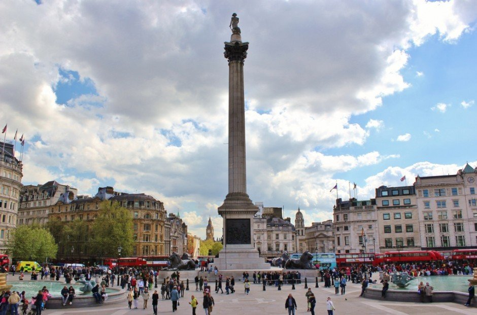 Westminster Sights: Trafalgar Square