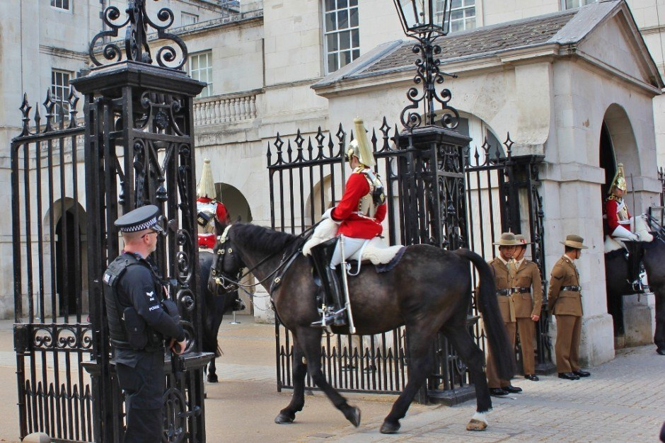 Westminster Sights: Horse Guards Building