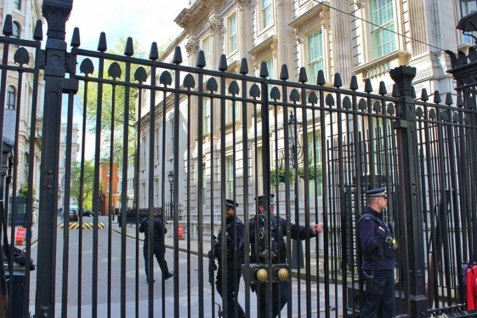 Westminster Sights: 10 Downing Street
