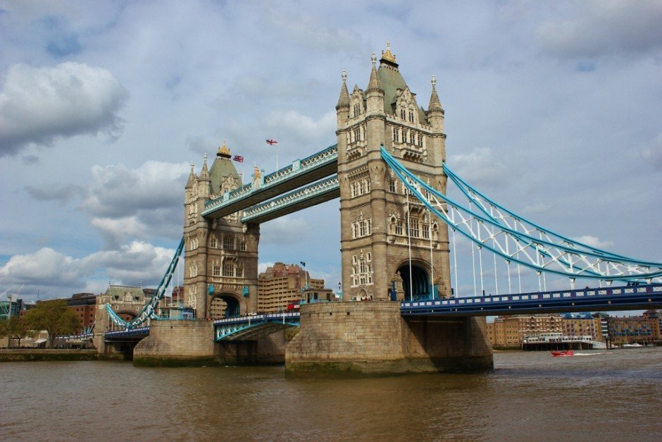 Tower Bridge in London England
