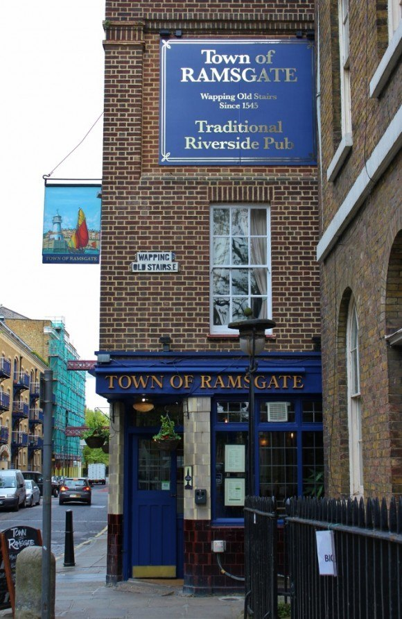 River Thames Pub Crawl #5: Town of Ramsgate - one of at least two bars claiming to be the oldest on the Thames